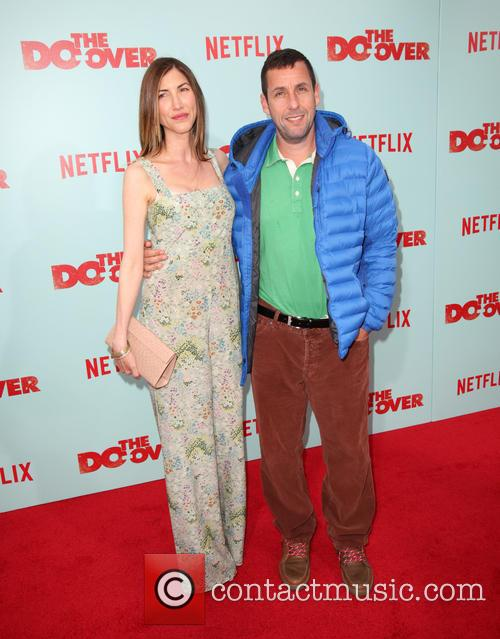 Jackie Sandler and Adam Sandler 3