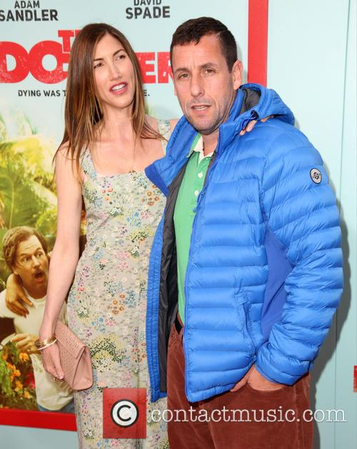 Jackie Sandler and Adam Sandler 4