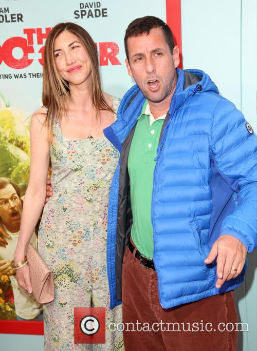 Jackie Sandler and Adam Sandler 6