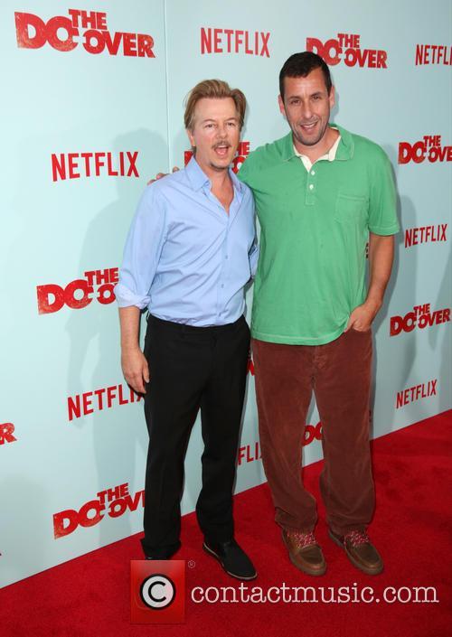 David Spade and Adam Sandler 4