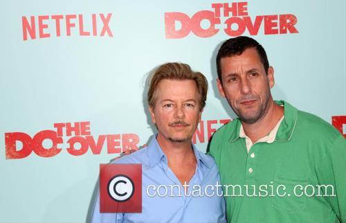 David Spade and Adam Sandler 9