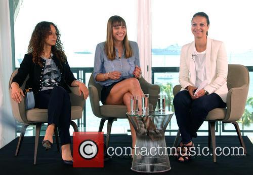 Houda Benyamina, Alice Winocour and Isabelle Giordano 1