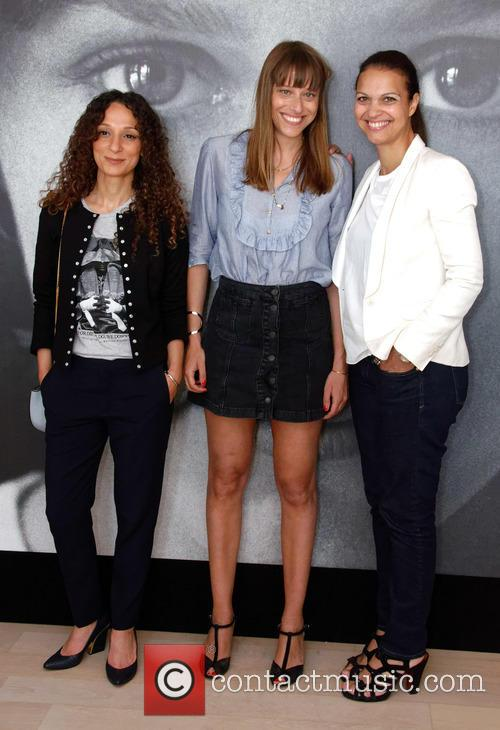 Houda Benyamina, Alice Winocour and Isabelle Giordano 2