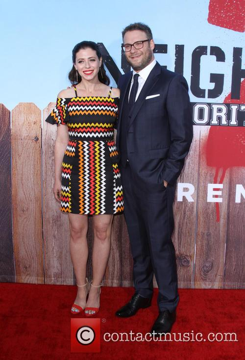 Seth Rogen and Wife Lauren Miller 5
