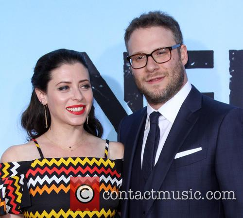 Seth Rogen and Wife Lauren Miller 6