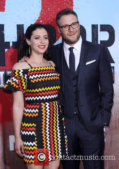 Seth Rogen and Wife Lauren Miller 7