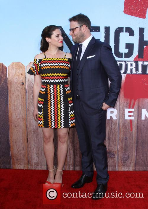Seth Rogen and Wife Lauren Miller 8