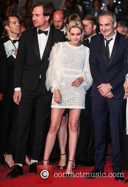 Kristen Stewart, Lars Eidinger and Olivier Assayas 1