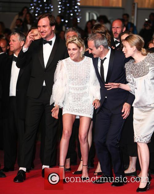 Kristen Stewart, Lars Eidinger and Olivier Assayas 7