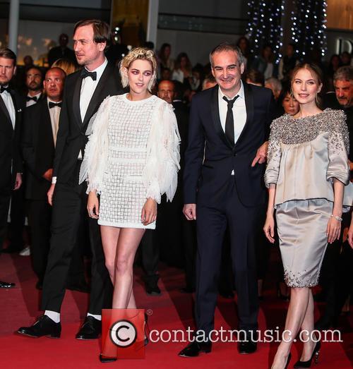 Lars Eidinger, Kristen Stewart and Olivier Assayas 1