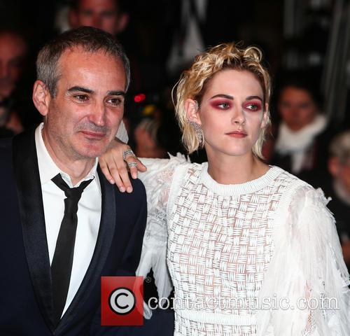 Olivier Assayas and Kristen Stewart 1