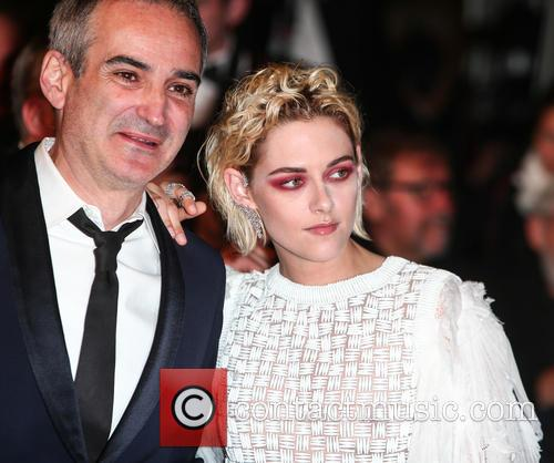 Olivier Assayas and Kristen Stewart 2
