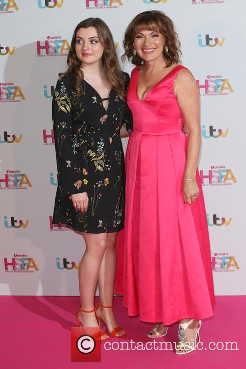 Rosie Smith and Lorraine Kelly 2