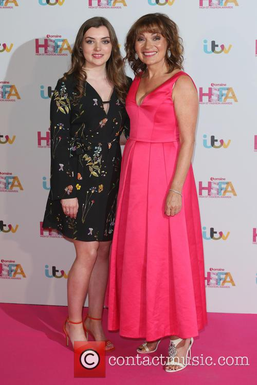 Rosie Smith and Lorraine Kelly 6