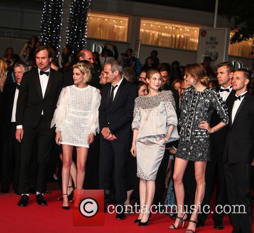 Lars Eidinger, Kristen Stewart, Olivier Assayas, Nora Von Waldstaetten, Sigrid Bouaziz and Anders Danielsen Lie 3