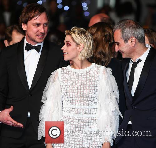 Lars Eidinger, Kristen Stewart and Olivier Assayas 6