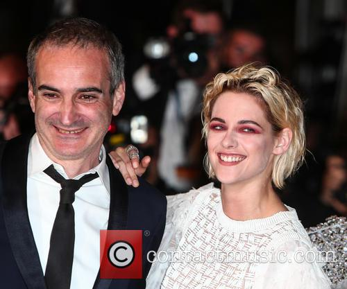 Olivier Assayas and Kristen Stewart 6