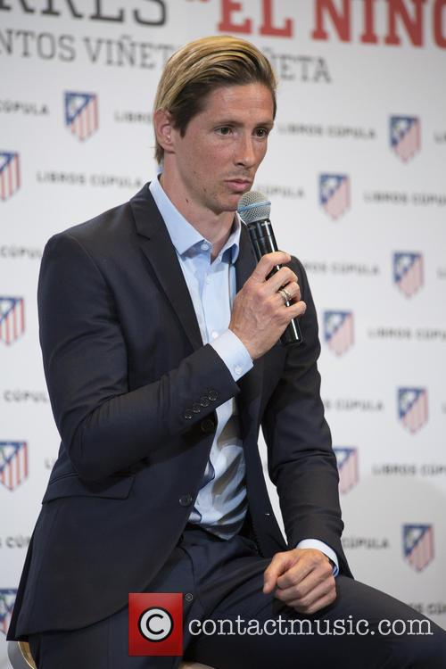 Fernando Torres presents his official biography 'Fernando Torres,...