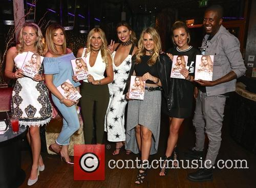 Ferne Mccann, Girls From Towie and Vas J Morgan 2