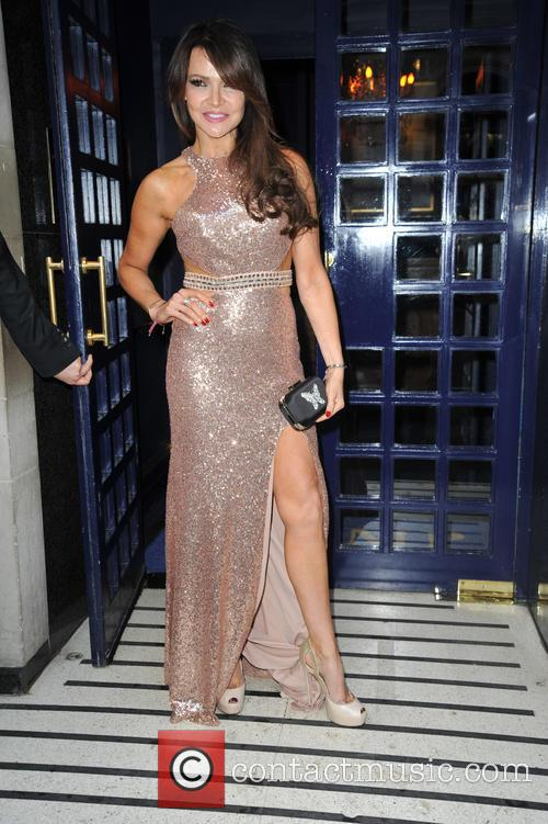 Lizzie Cundy's birthday party at Tramp