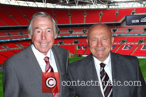 Gordon Banks and George Cohen 11