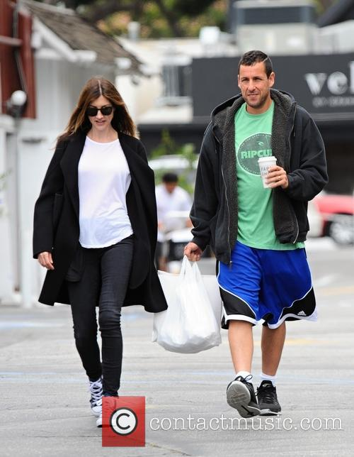Adam Sandler and Jackie Sandler 3
