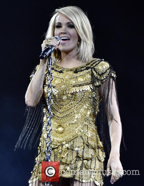 Carrie Underwood performs live at Allstate Arena