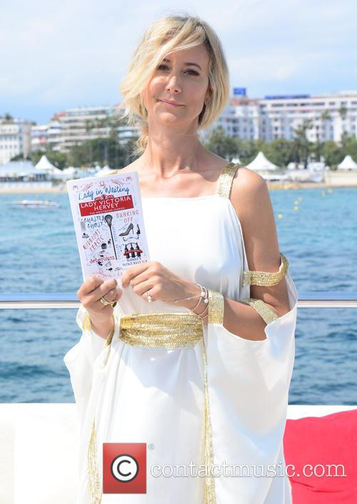 Lady Victoria Hervey and (wearing Julia Clanacey) 8