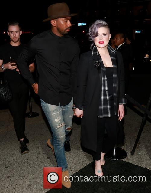 Kelly Osbourne and Male Companion 3