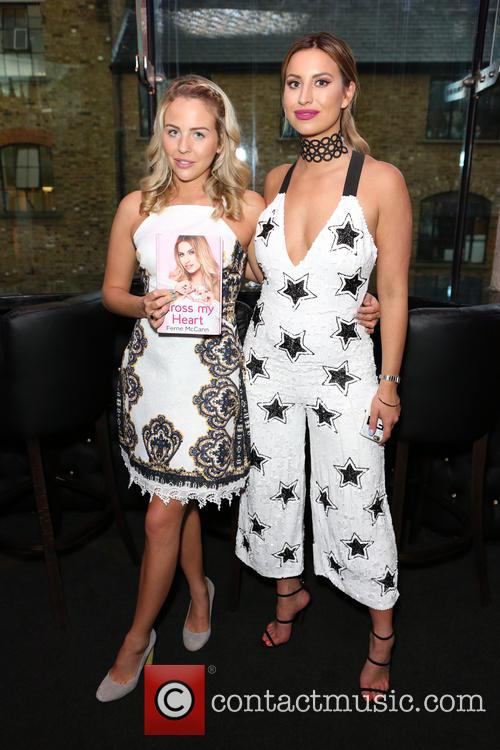 Lydia Bright and Ferne Mccann 7
