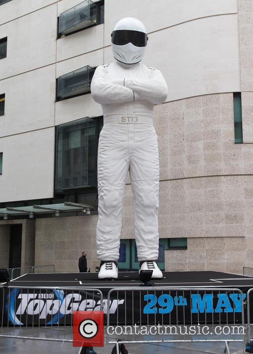Giant Statue of the Stig stands in the...