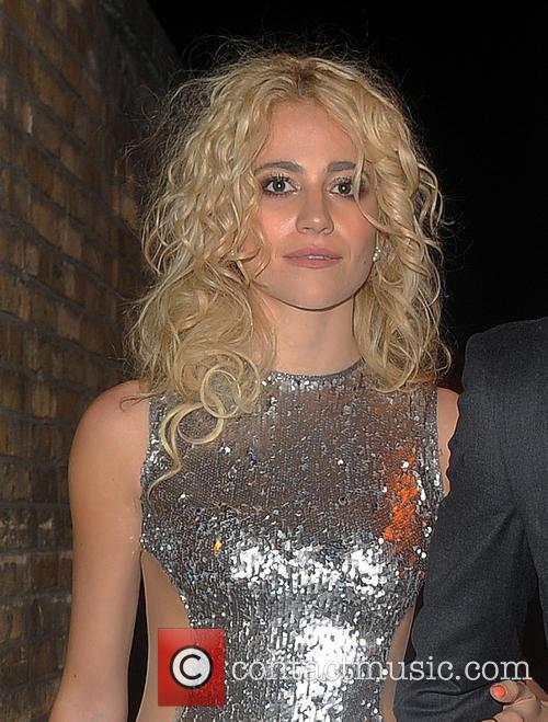 Pixie Lott and Oliver Cheshire 2