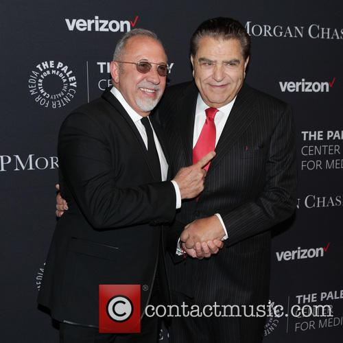 Emilio Estefan and Don Francisco (mario Kreutzberger) 1