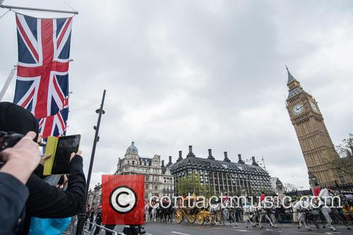 Queen's speech arrivals