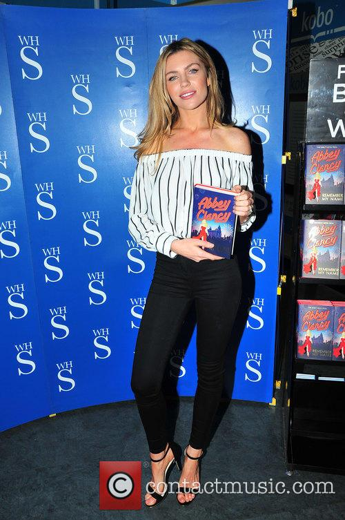 Abbey Clancy promotes her new book 'Remember My...