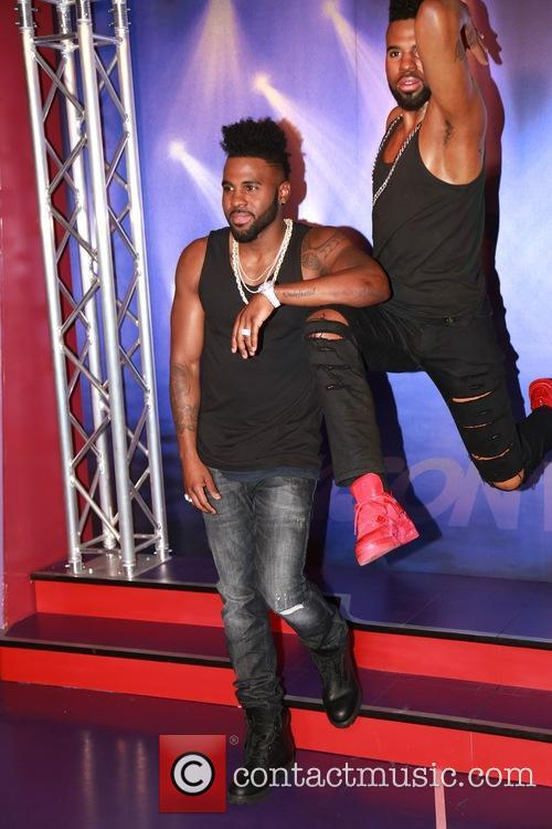 Jason Derulo unveils his brand new wax figure...