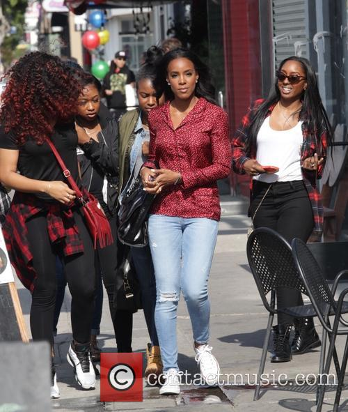 Kelly Rowland heading to Lala's Argentinian restaurant