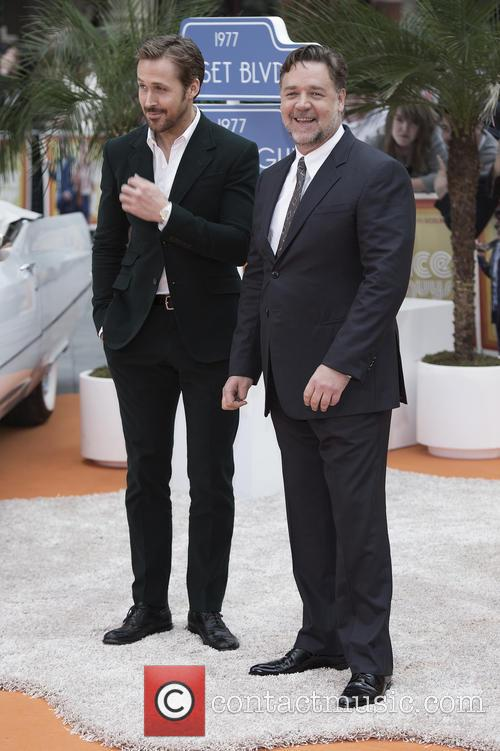 Ryan Gosling and Russell Crowe 10