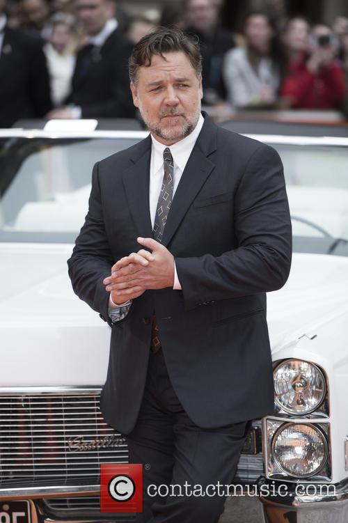 Russell Crowe at 'The Nice Guys' premiere