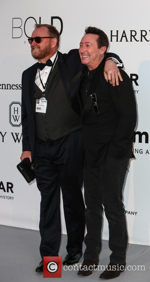 Julian Lennon and Kevin Frost 6