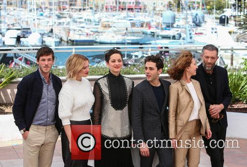 Gaspard Ulliel, Lea Seydoux, Marion Cotillard, Xavier Dolan, Nathalie Baye and Vincent Cassel 2