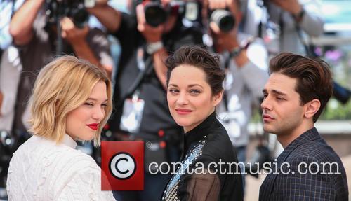 Lea Seydoux, Marion Cotillard and Xavier Dolan 4