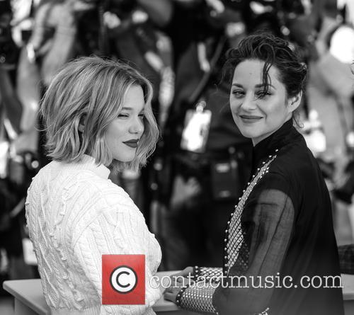 Lea Seydoux and Marion Cotillard 6