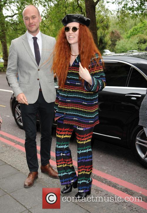 Jess Glynne arrives at The Ivor Novello Awards