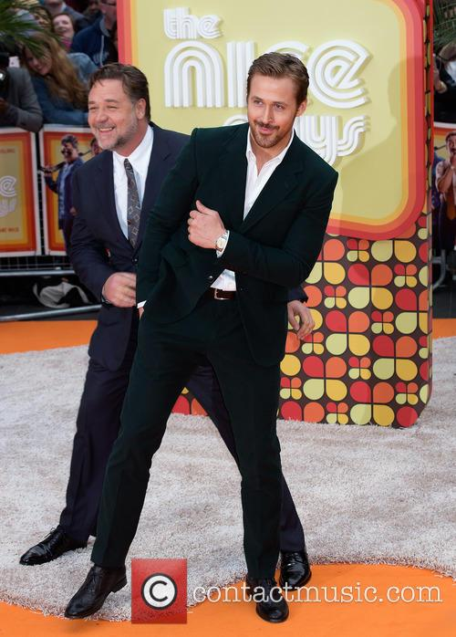 Russell Crowe and Ryan Gosling 1