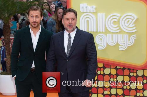 Ryan Gosling and Russell Crowe 7
