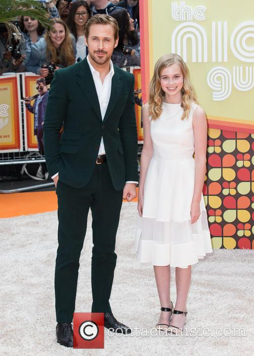 Ryan Gosling and Angourie Rice 8