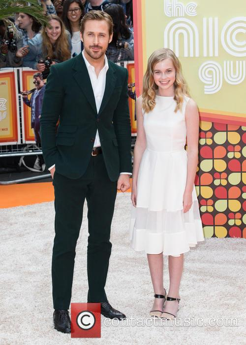 Ryan Gosling and Angourie Rice 9