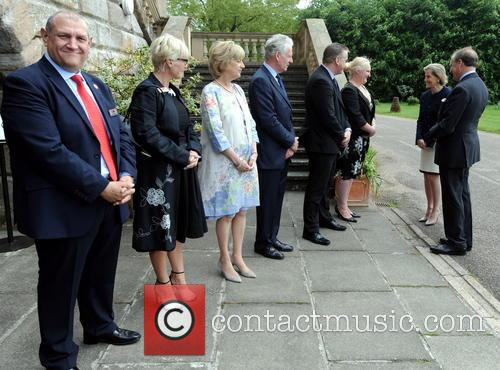 The Countess, Wessex, Midlands Air Ambulance Charity's, Garden Party and Hagley Hall 1