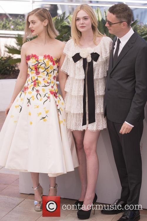 Bella Heathcote, Elle Fanning and Nicolas Winding Refn 8